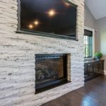 Modern Farmhouse Family Room Fireplace