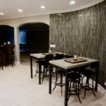 Basement Bar Tiled Wall