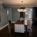 Dining Room Blue Accents