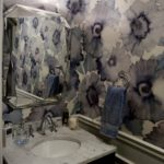 Powder Room Poppy Wallpaper