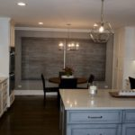 Kitchen White Cabinets Pendant Lights